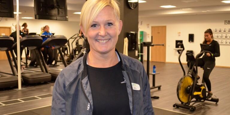 Lisen Tingskog, platschef för Nordic Wellness i Växjö City.