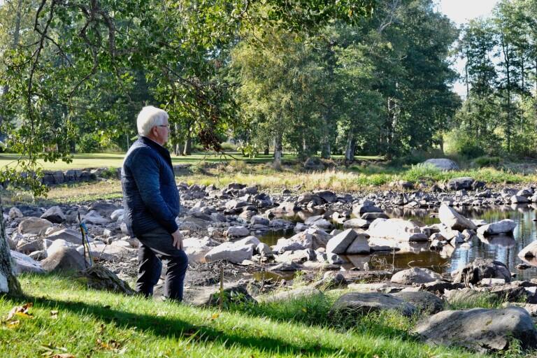 """Samhällsföreningens ordförande är glad över beslutet att stoppa vattenuttaget: """"Vi ska fira i dag"""""""