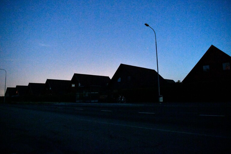 Karlshamn: Omfattande strömavbrott under natten