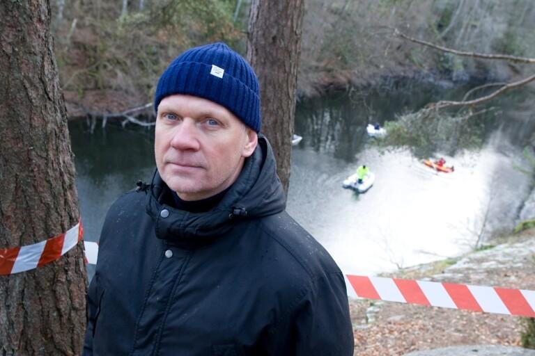 """Polisen vill tömma stenbrott på vatten – """"Vi har en klar bild"""""""