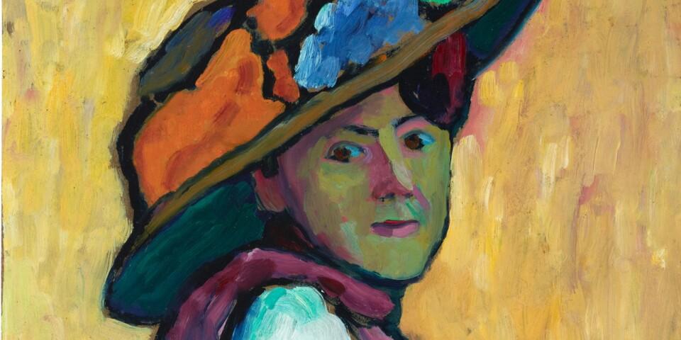 """Gabriele Münter: """"Marianne von Werefkin"""" (1909)"""
