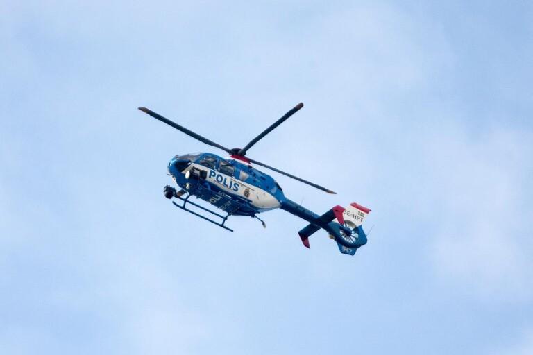 Treåring hittades välbehållen efter stort polispådrag