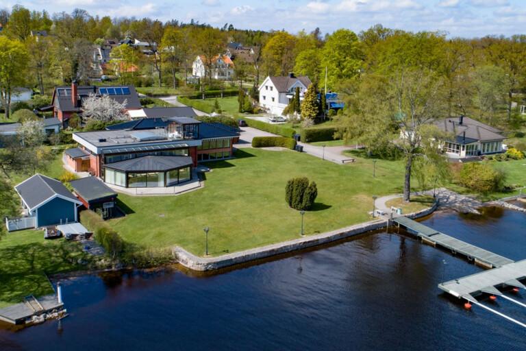 Stort intresse för lyxvilla i Växjö för 18,5 miljoner