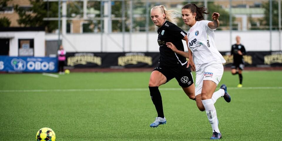 Nellie Karlsson gjorde enda målet mot Vittsjö.