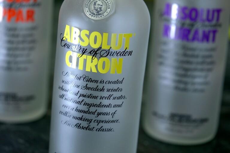 Stulen vodka blir mer än sju gånger så dyr