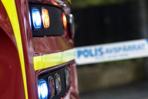 Larm: Brand på samma plats två dagar i rad