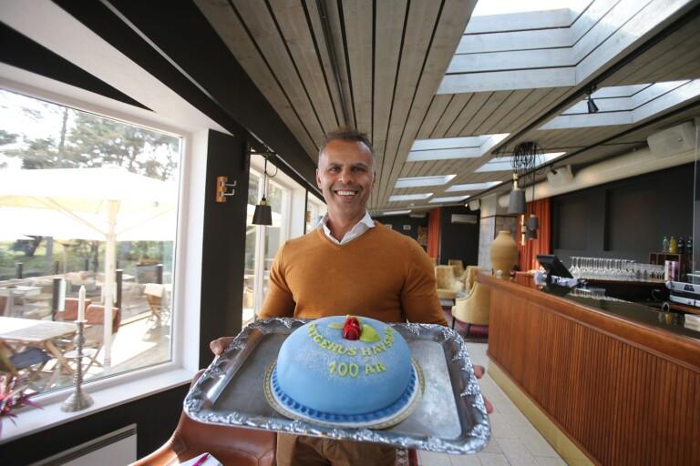 Småskaligt firande på Smygehus 100-årsdag