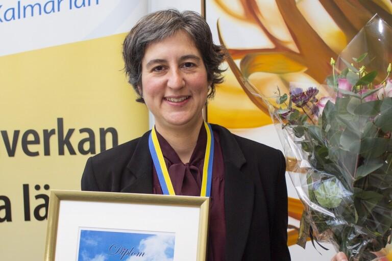 Lisa Labbé Sandelin prisas för sitt arbete under pandemin
