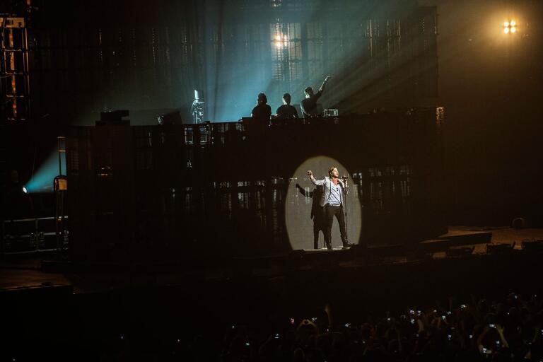 John Martin har uppträtt för slutsålda jättearenor (på bilden Friends Arena) över hela världen tillsammans med Swedish House Mafia. I sommar kommer han till Kackelstugan.