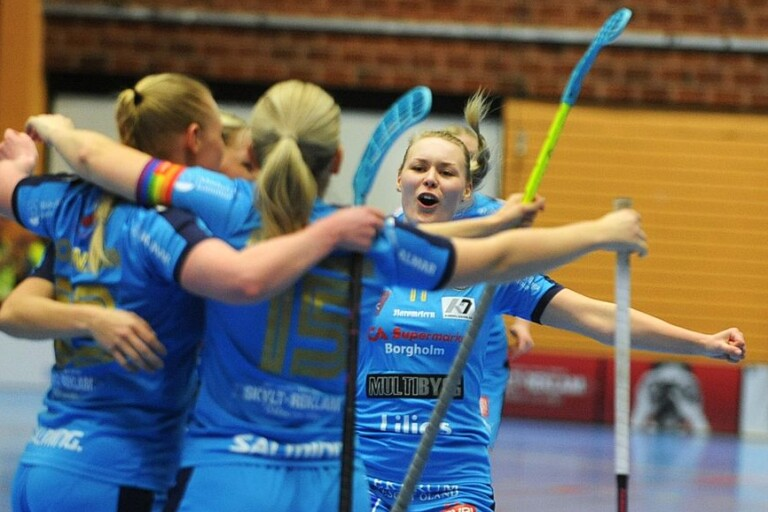 Stina Lindqvist gjorde två mål senast mot Skoghall.