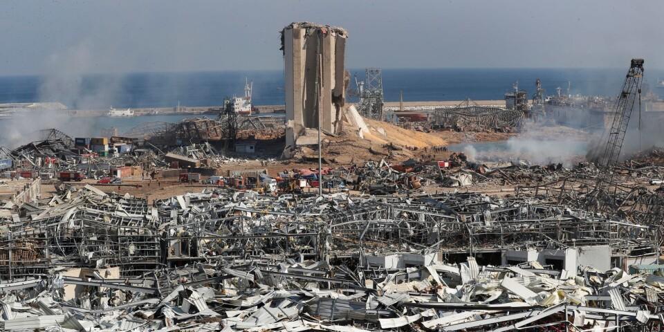 Explosionen har ödelagt Beiruts hamn och stora delar av staden.