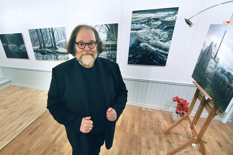 Runt 45 nya verk finns att beskåda hos Troels Kirk i Näsum vid årets konstrunda.
