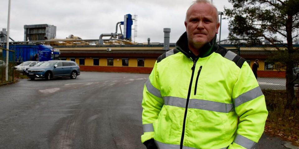 Klubbordförande Mattias Svensson berättar att många medarbetare är chockade efter onsdagens nedläggningsbesked.