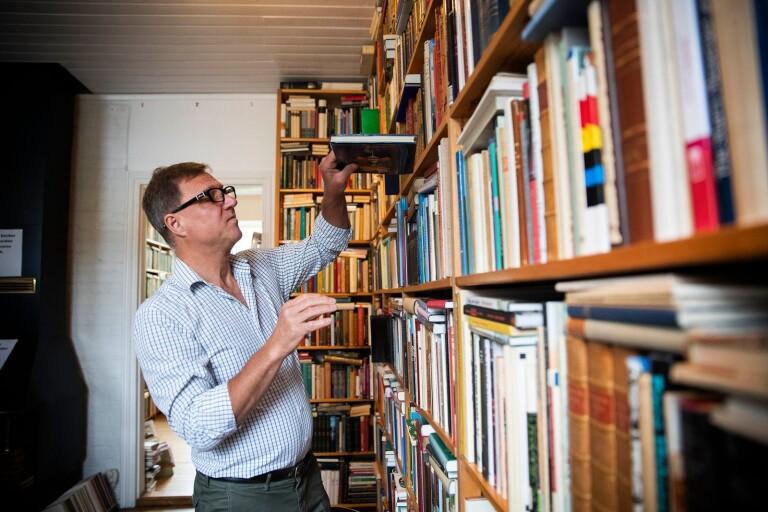 Borrby ett paradis för bokälskare – här trängs antikvariaten