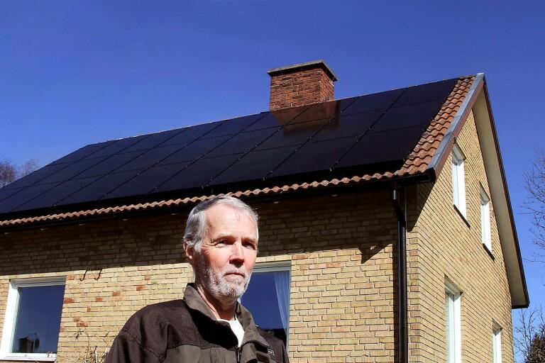"""""""Jag är inte intresserad av aktier – det blev solceller i stället"""""""