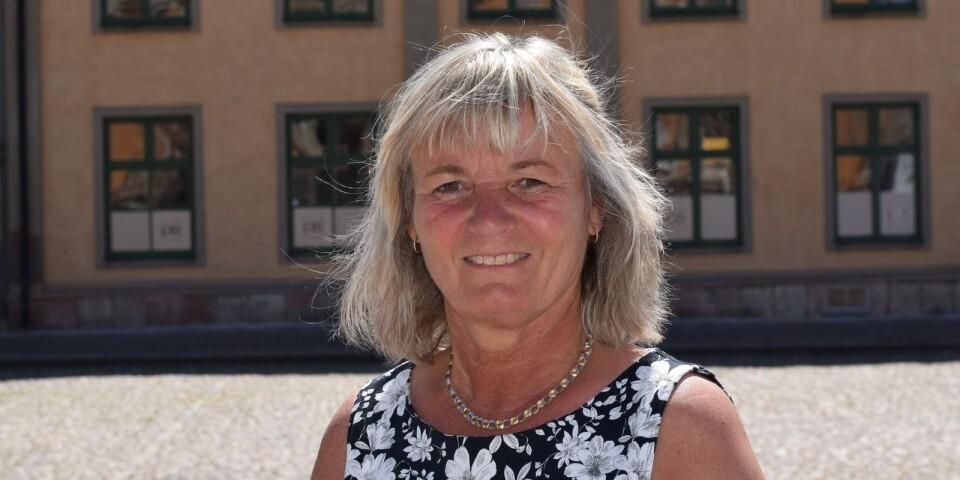 Kommundirektör Annette Andersson.