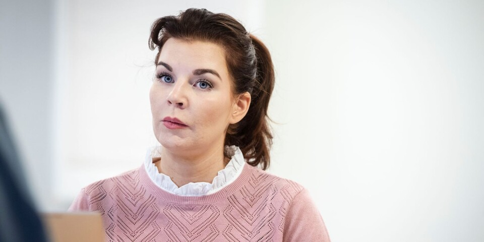 Louise Erixon (SD), kommunstyrelsens ordförande i Sölvesborg.