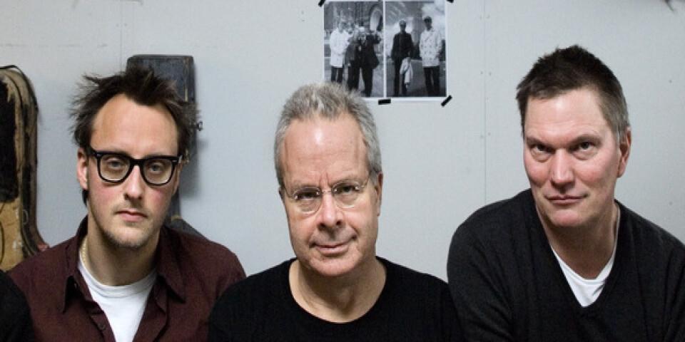 Christian Olsson, Mattias Helldén och Örjan Högberg i trion Fläskkvartetten släpper ny ep i juni. Arkivbild.