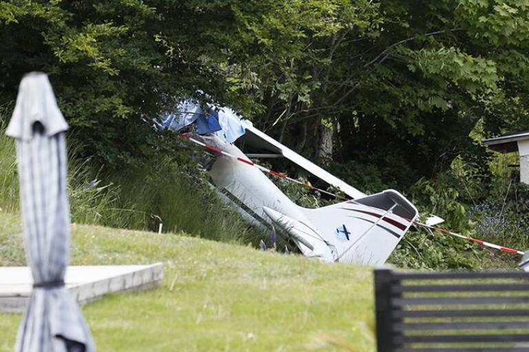 """Efter flygkraschen: """"Han var en härlig och utåtriktad person"""""""