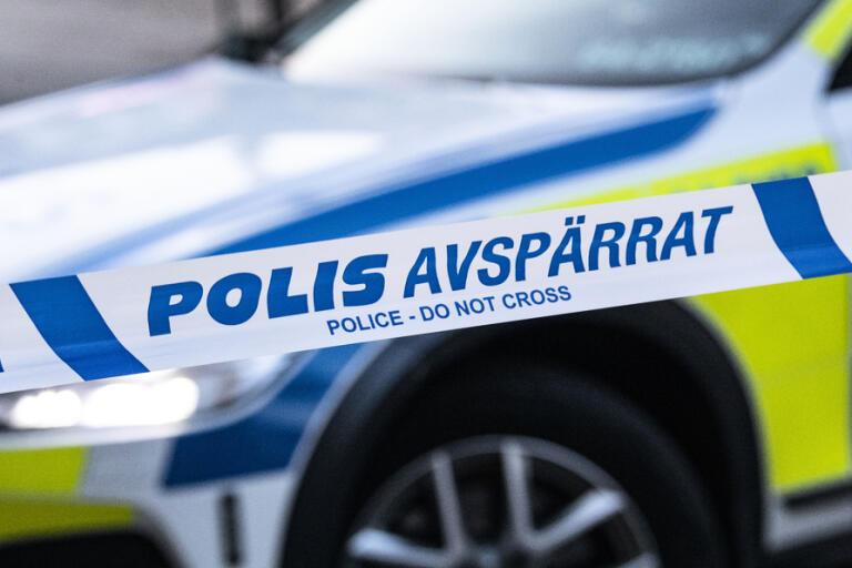 Arkivbild. En man har skjutits i benet i Skarpnäck, söder om Stockholm.