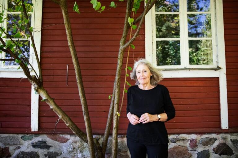 """Agneta Pleijel är aktuell med boken """"Dubbelporträtt. En roman om Agatha Christie & Oskar Kokoschka""""."""