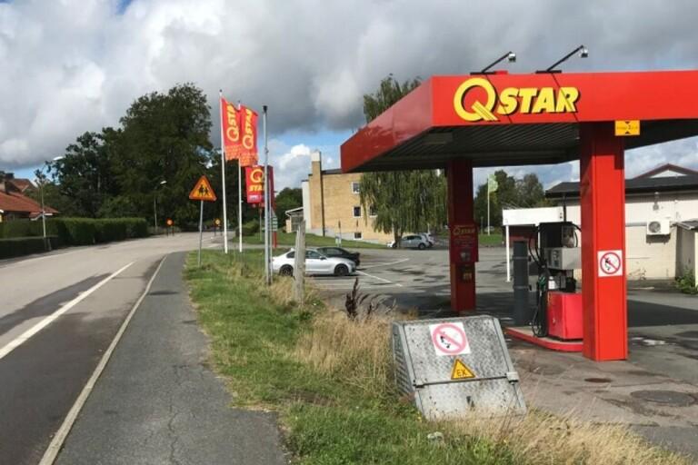 إغلاق محطة بنزين