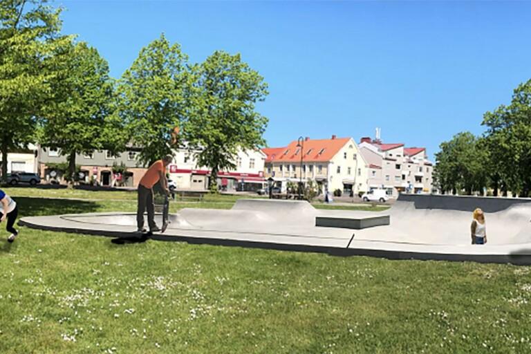 Oppositionen tycker att det saknas en del information kring investeringen i skatepark i Borgholm.