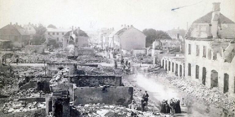 Branden som förändrade Ronnebygatan