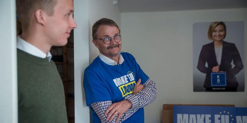 Niklas Arvidsson och Magnus Sjödahl (KD).