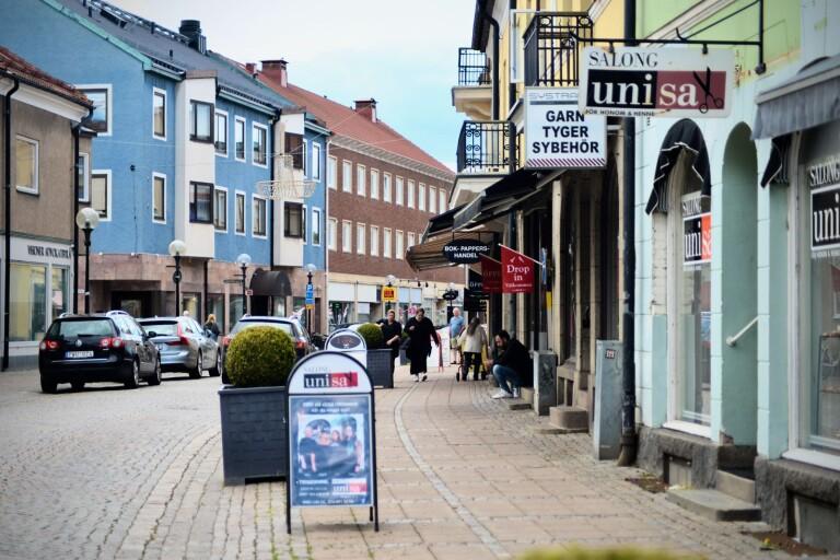 Nu ska trafikmiljön i centrala Nybro bli säkrare