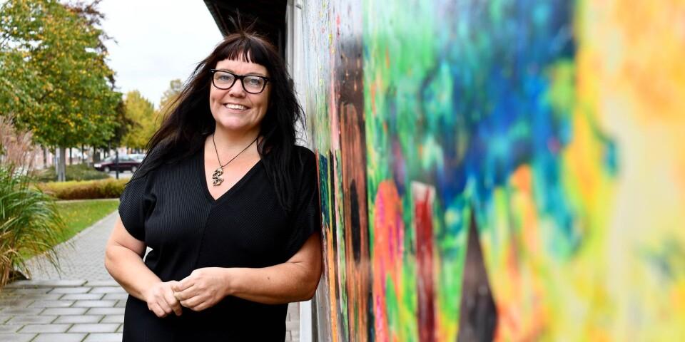 """""""Det är fantastiskt roligt att vi når ut till så många barn och ungdomar!"""" säger Sylvia Carlsdotter, chef för Kulturskolan i Simrishamn."""