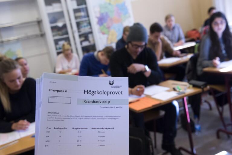 Orättvist: Kritik mot först till kvarn-princip för högskoleprov