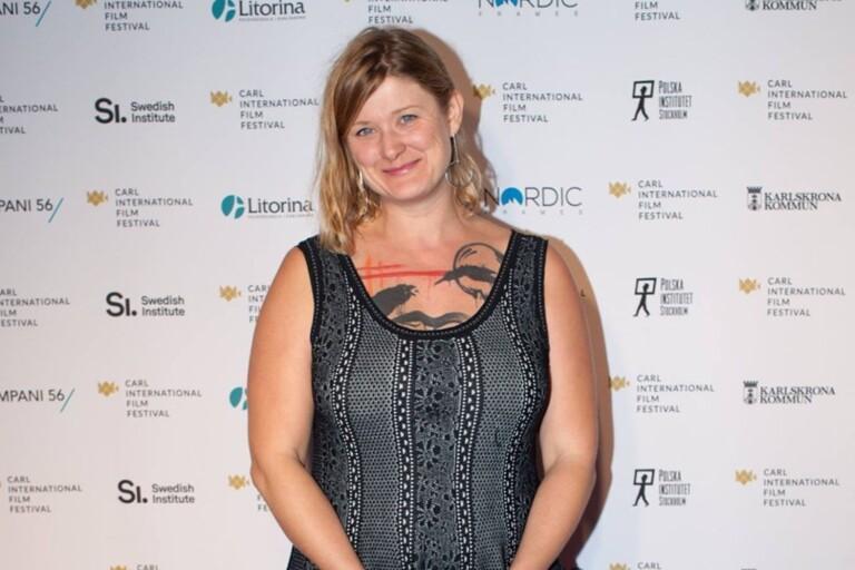 """Isbella Eklöf är en av manusförfattarna till """"Gräns"""" som tog hem ett av de två priserna i Baltic Sea Competition under CIFF."""