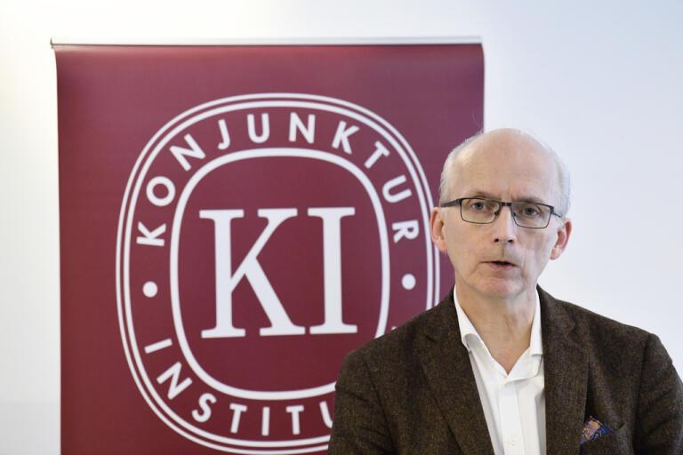Konjunkturinstitutets chef Urban Hansson Brusewitz. Arkivbild.