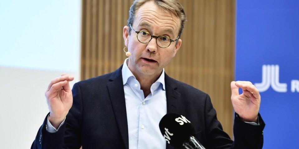 Björn Eriksson, chef för regional särskild sjukvårdsledning samt hälso- och sjukvårdsdirektör i Stockholm.