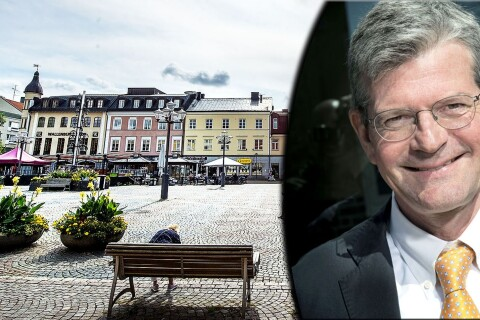 Högskolerektorn oroad för centrum – flytt till gallerian har diskuterats