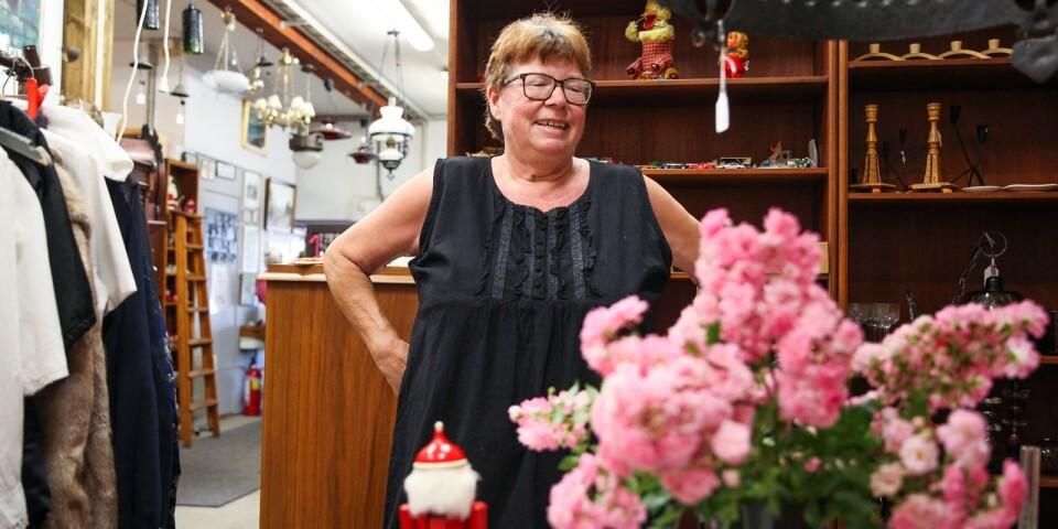 Anne Edberg stänger Karossgården i Gladsax efter 25 år.