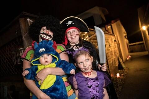 Här är halloween årets höjdpunkt