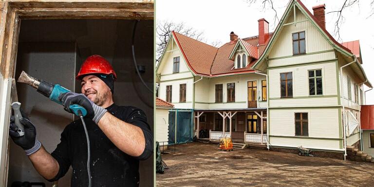 "Då ska renoveringen av gamla Tingshuset vara klart: ""Blir helt unikt"""