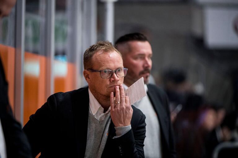 Karlskronas assisterande tränare Arto Miettinen