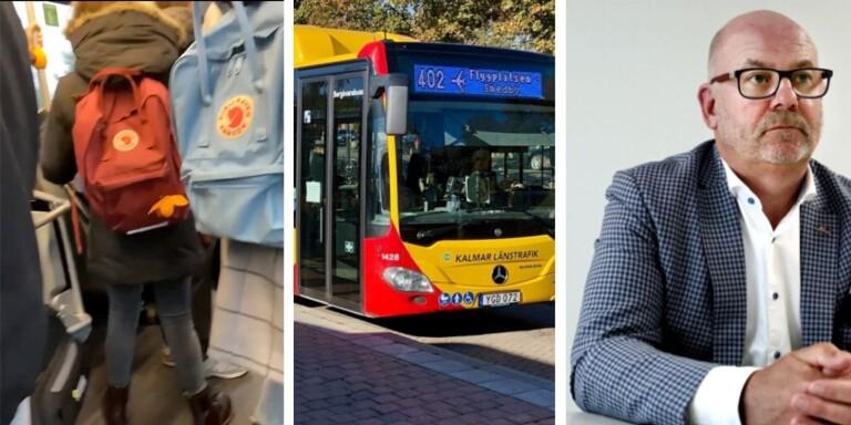 """Oro över trängsel på bussar: """"Många åker som inte behöver"""""""
