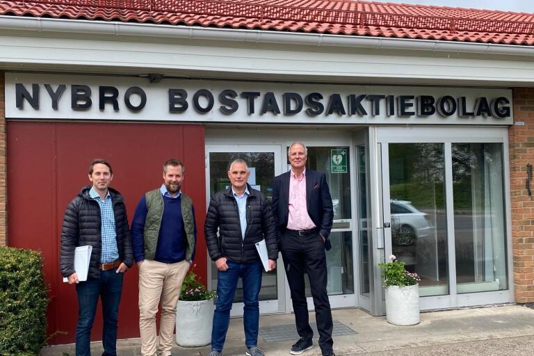 Nybyggnation i Nybro – 40 nya lägenheter