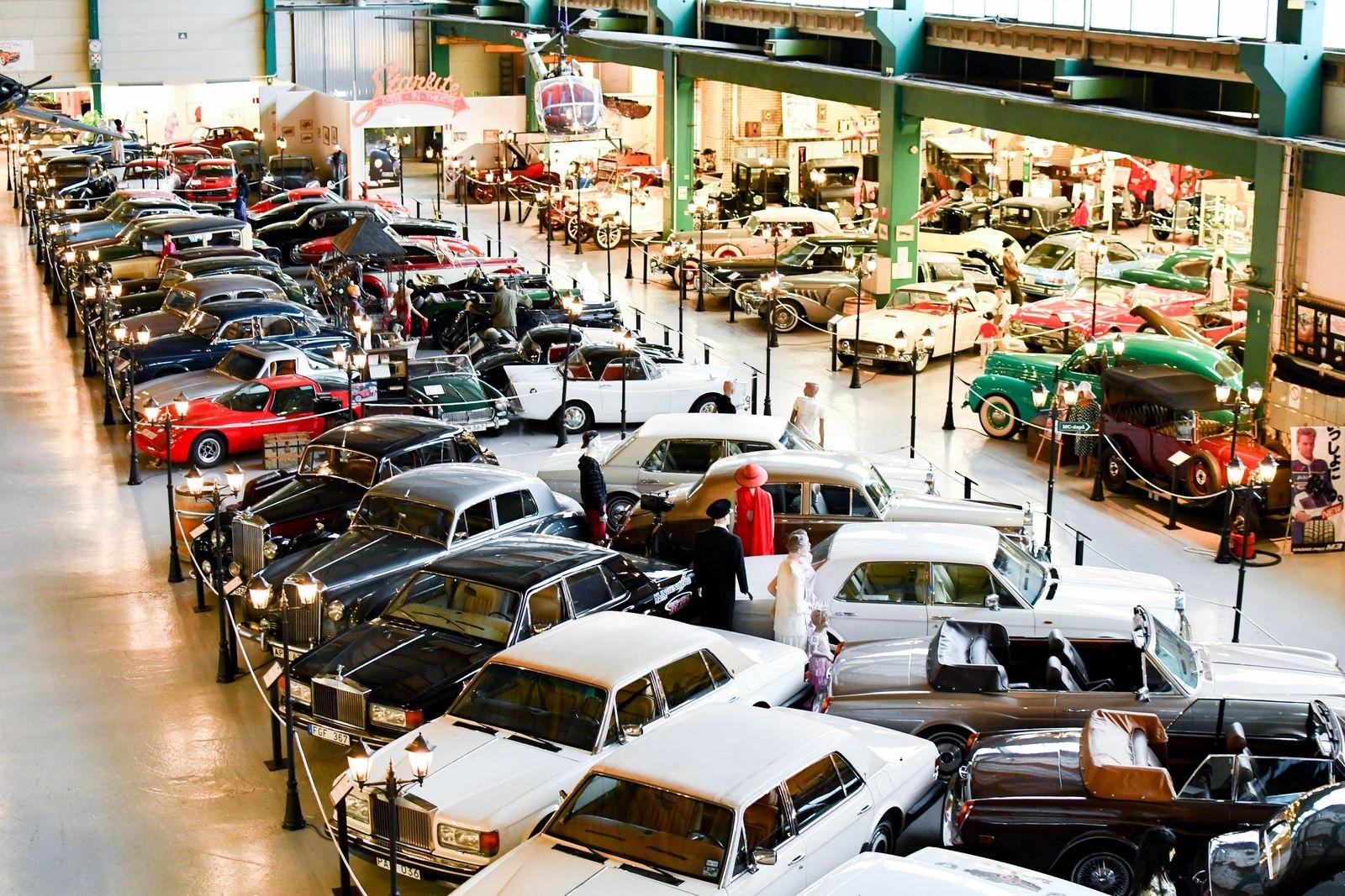3500 kvadratmeter fylld med motornostalgi. Fredagen den 5 mars öppnar Autoseum för säsongen. Därefter är museet öppet fredag, lördag, söndag klockan 10.00–17.00.