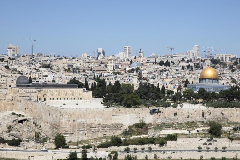 En palestinsk man har skjutits ihjäl i Jerusalem. Arkivbild.
