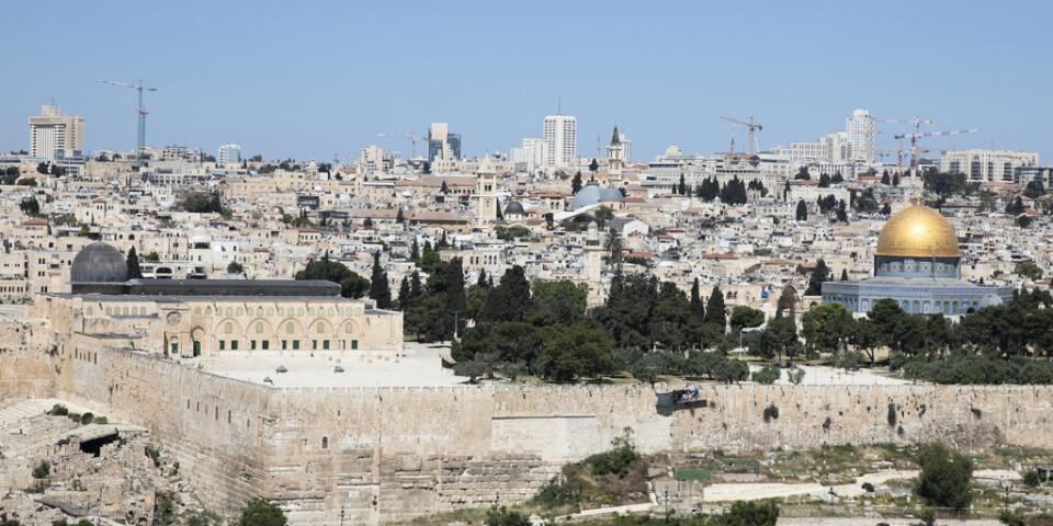 Honduras hoppas kunna inviga sin nya ambassad i Jerusalem före årsskiftet. Arkivbild.