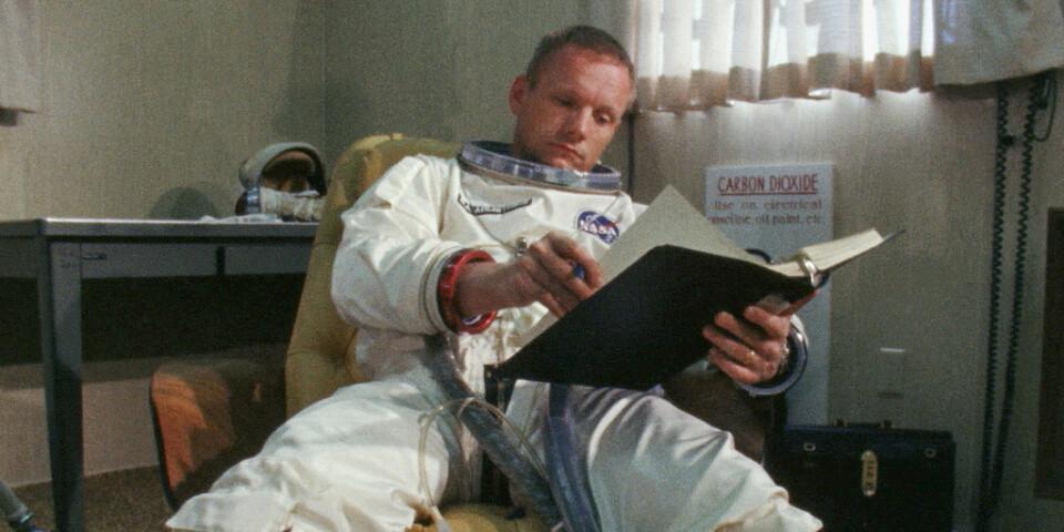 """Tv-kanalen National Geographic visar dokumentärer om rymden varje lördag i juli, en av dem är """"Armstrong-banden"""". Pressbild."""