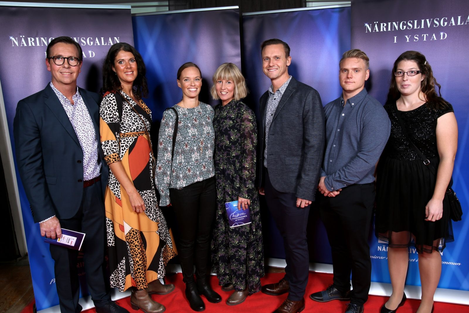 Jesper Lindgren, Caroline Lindgren, Therese Kleman, Annika Bendroth, Björn Bendroth, Joakim Persson och Laura Nilsson, JL Fysiocenter AB