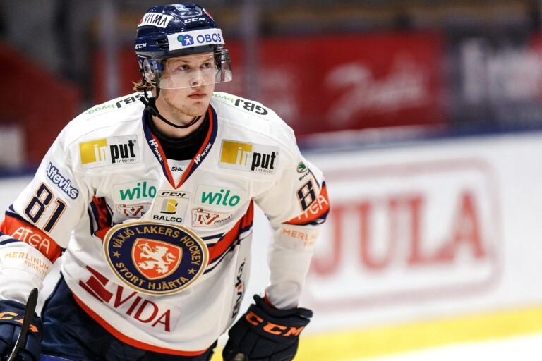 Fredrik Karlström blev stor matchvinnare för Växjö Lakers