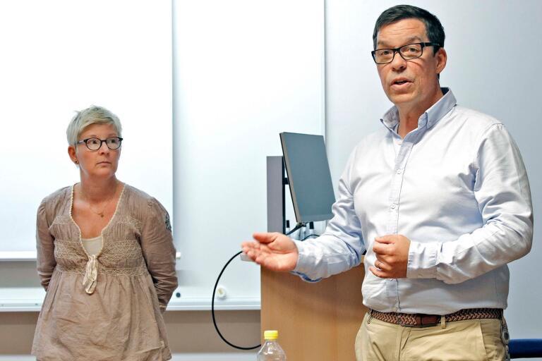 HR-ansvariga Anders Poutiainen och Åsa Bertilsson har strävat efter att personalen ska få så lång återhämtning som möjligt i sommar trots coronapandemin.