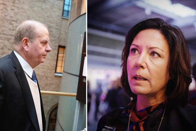 """Tenfjord-Toftby om friande domen för Erlandsson: """"Inte ett okej beteende"""""""